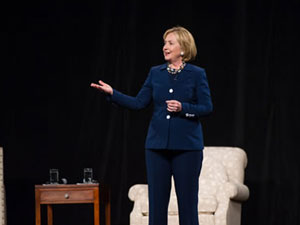 Hillary Clinton in Toronto